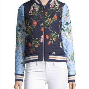NWT Parker Floral Bomber Jacket